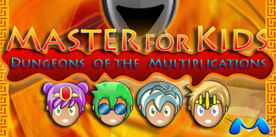 Master for Kids, Master for Kids Dungeons of the Multiplications. Videojuego de rol de multiplicaciones