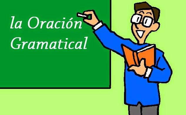 Segundo bachillerato selectividad lengua:La oración gramatical.