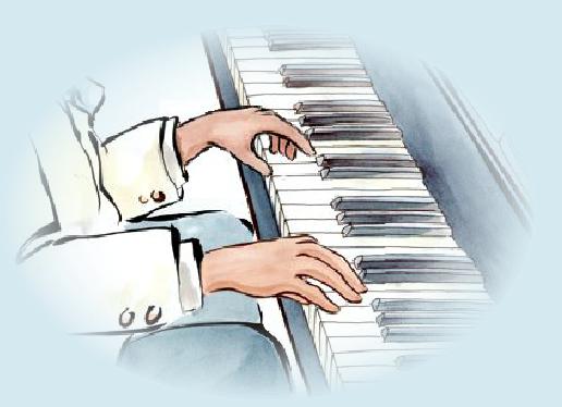 El pequeño pianista. Cuento interactivo