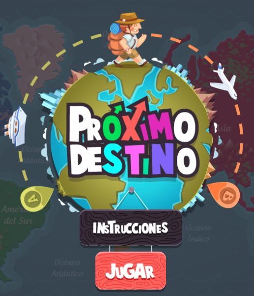 Próximo destino (juego interactivo)