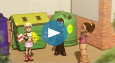 Video didáctico sobre el reciclaje y la reutilización