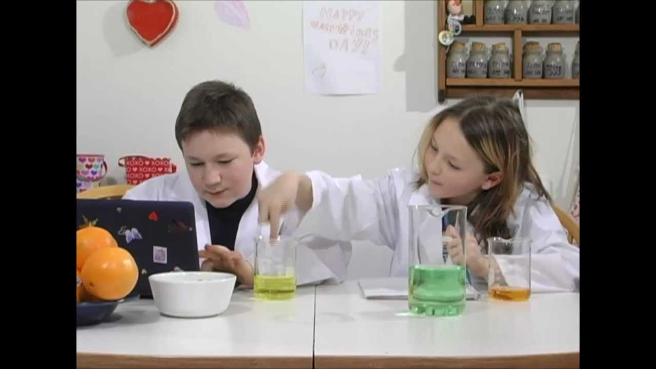 Science experiments and projects for kids and teenagers.