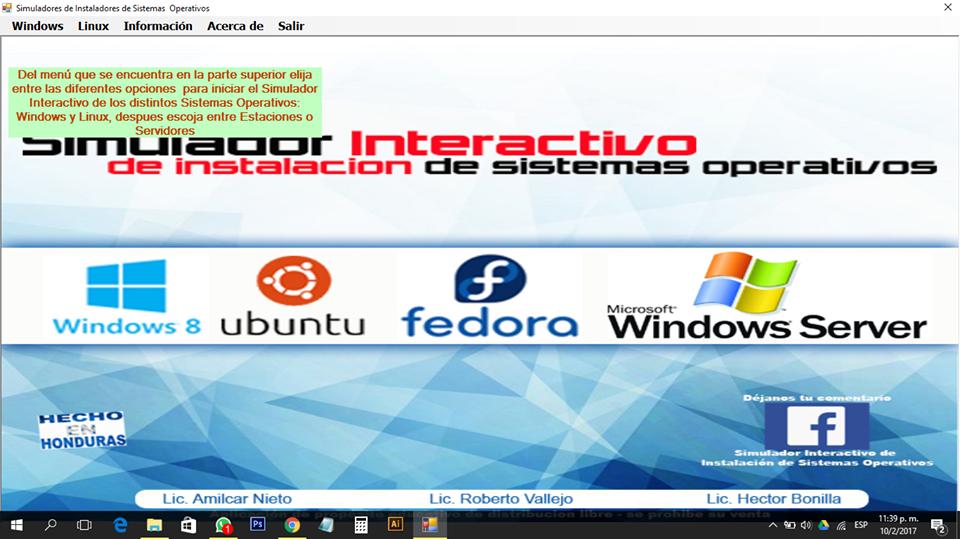 Simulador de instalación de sistemas operativos
