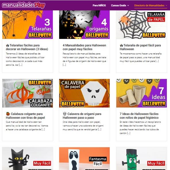 Manualidades de Halloween (todo tipo de materiales)