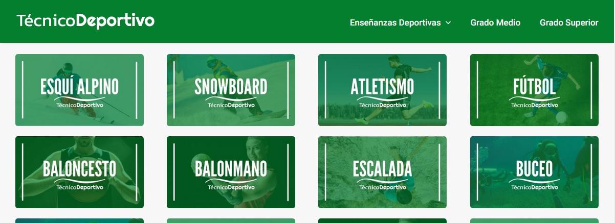 Enseñanzas deportivas de Régimen Especial (Guía)