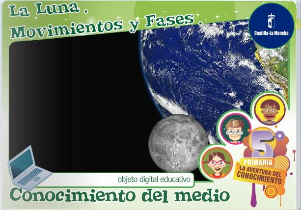 La Luna: movimientos y fases (Cuadernia)