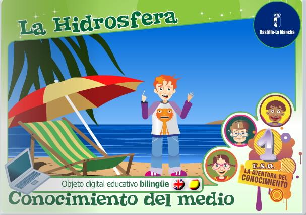 La Hidrosfera bilingüe (Cuadernia)