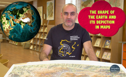 The shape of the Earth and its portrait in maps