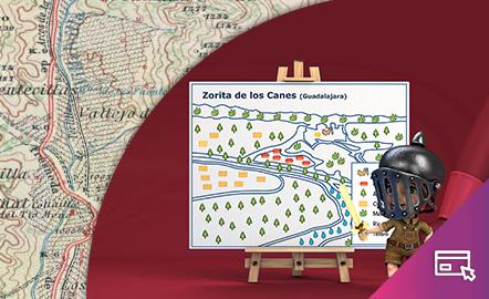 Símbolos cartográficos. El plano del tesoro.