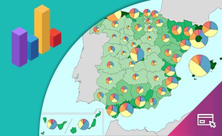 España a través de los mapas. El complemento cartográfico a los manuales de ESO y Bachillerato