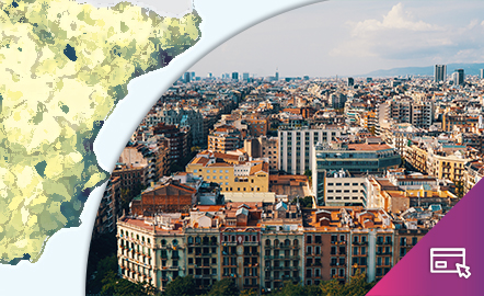 La población en España. Mapas para entender la demografía.