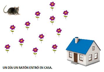 El ratón comilón (cuento-ficha)