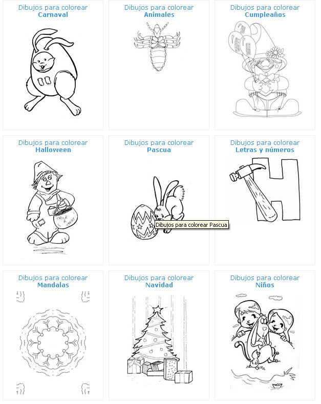 Dibujos Para Colorear E Imprimir Didactalia Material Educativo