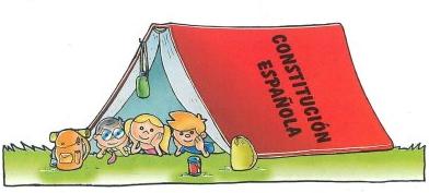 Constitución española para niños