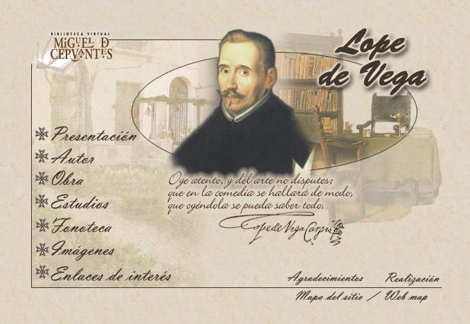 Lope de Vega (Biblioteca Virtual Miguel de Cervantes)