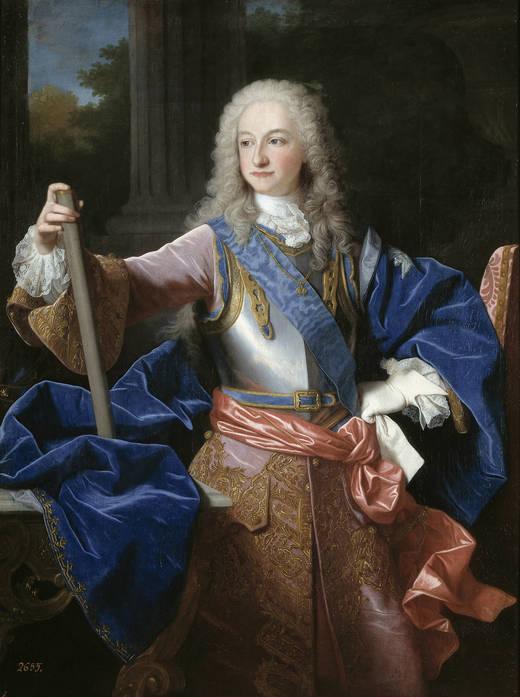 Luis I. Reinado relámpago.