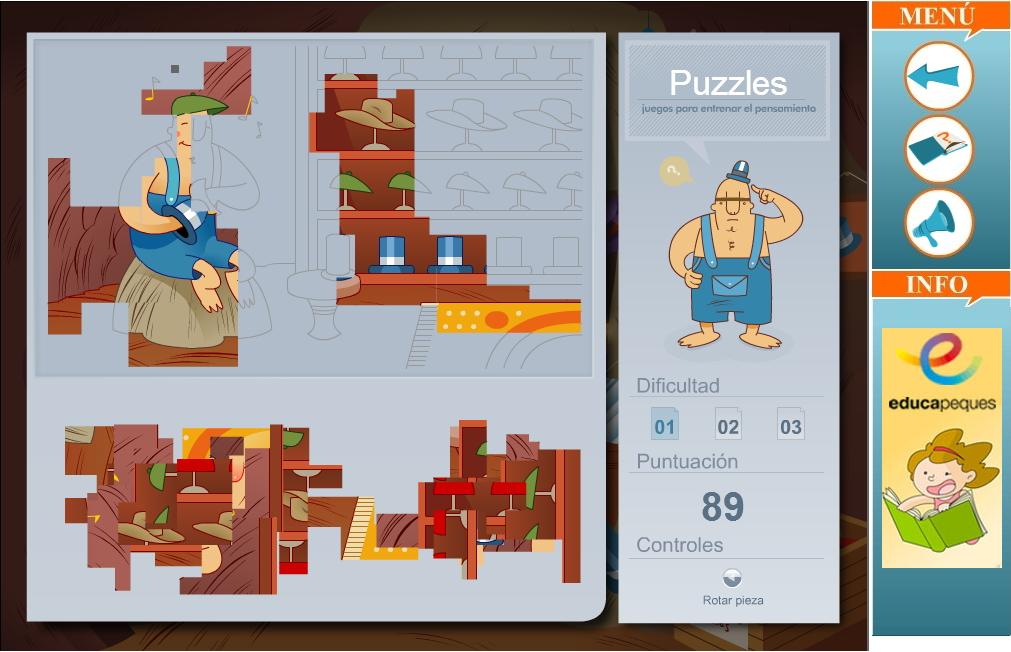 Juegos De Memoria Lógica Y Habilidad Para Niños Didactalia Material Educativo