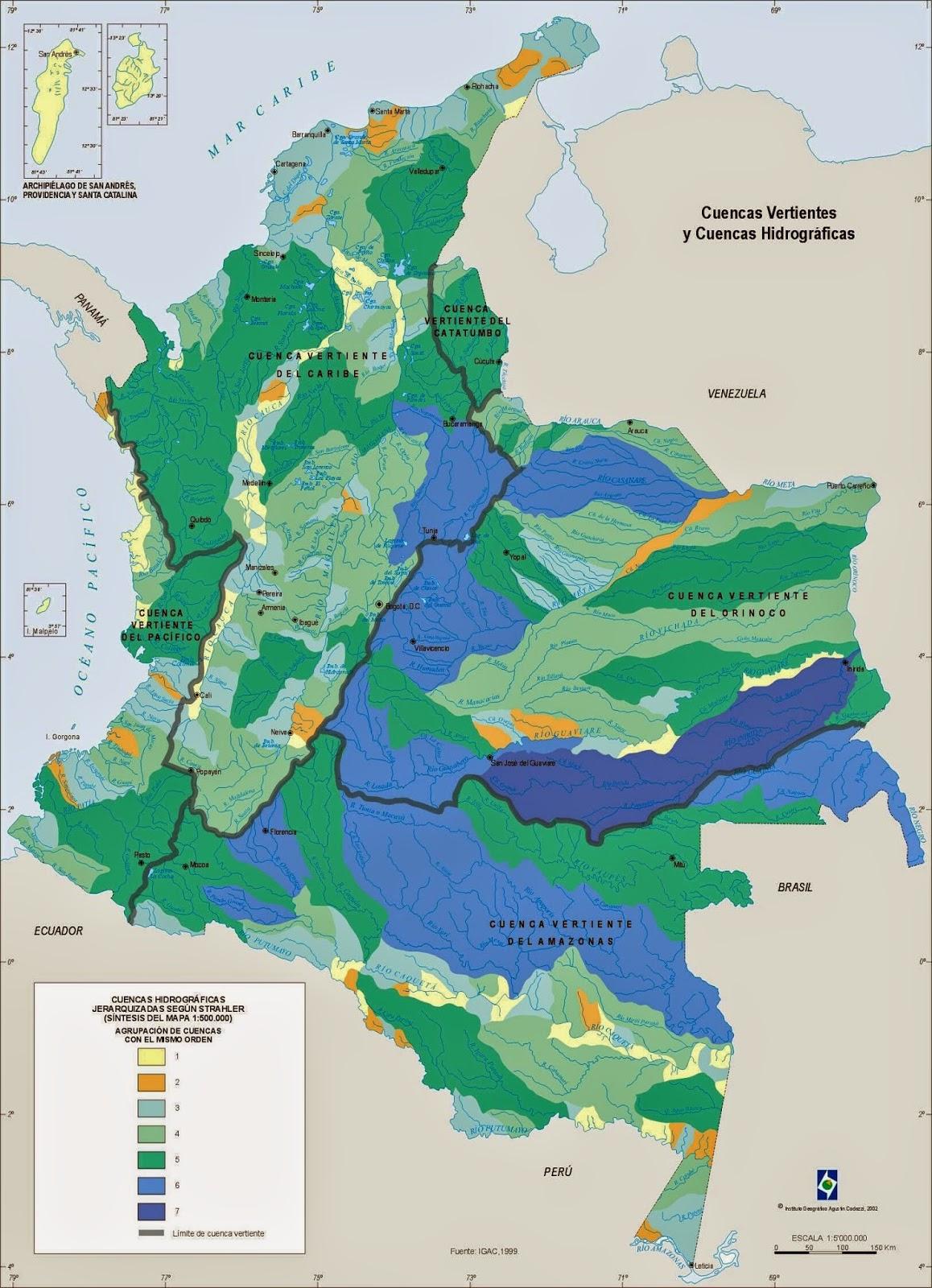 HIDROGRAFIA COLOMBIANA
