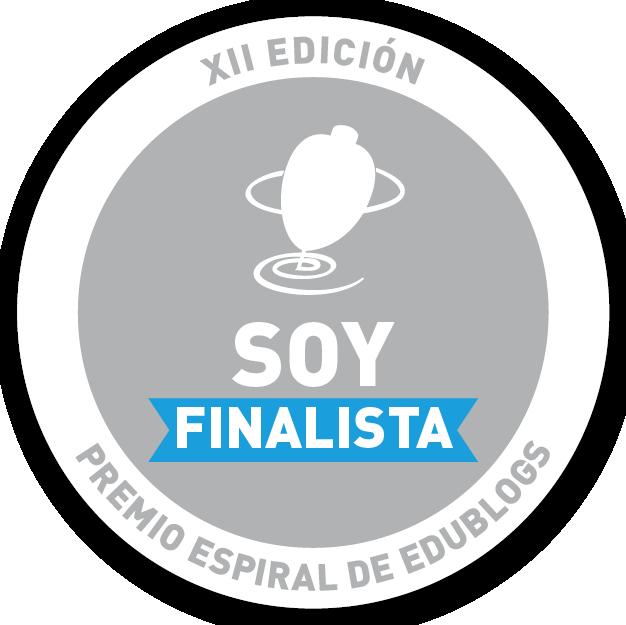 Logos finalistas XII Premio Espiral Edublogs