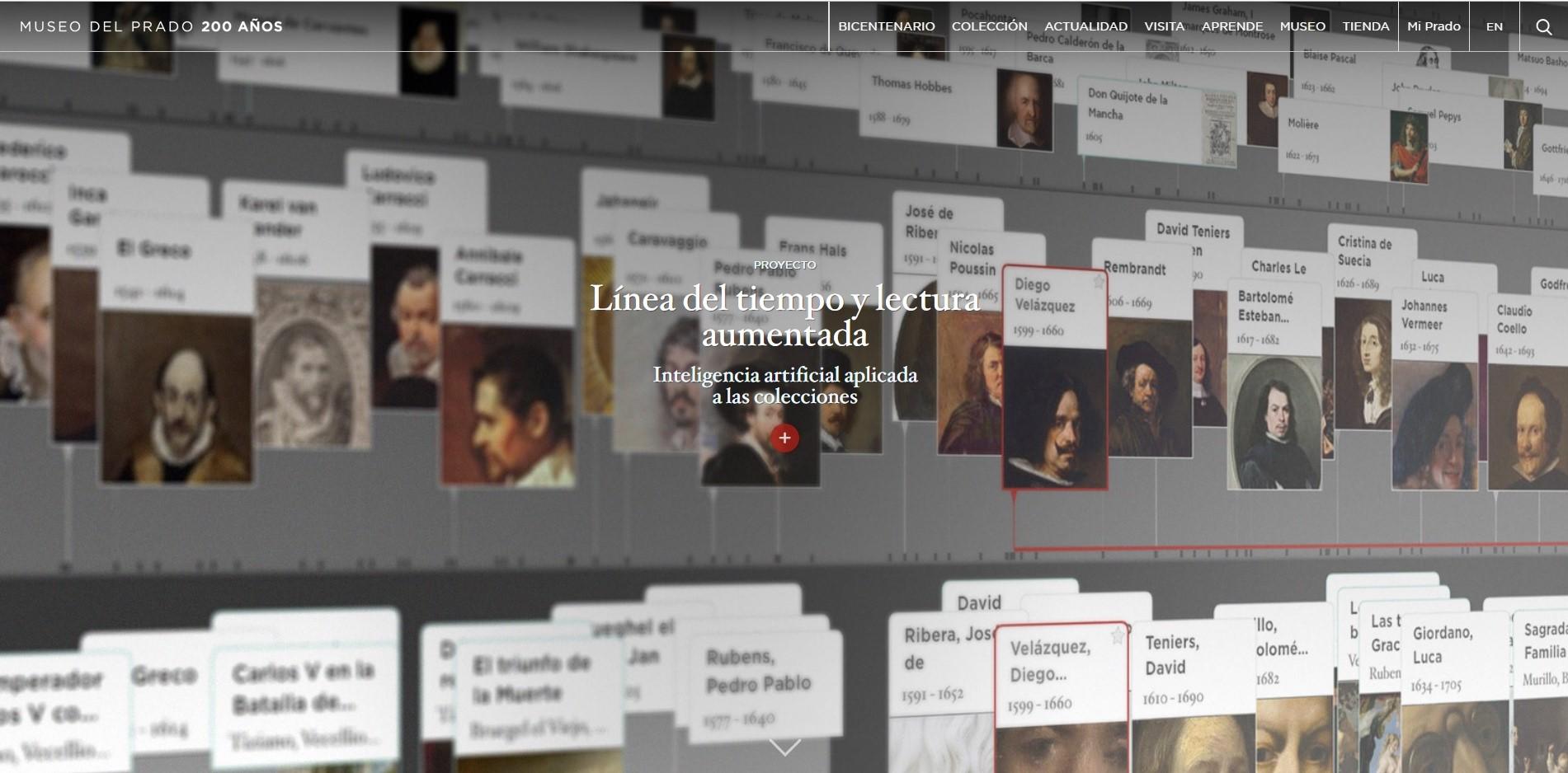 La inteligencia Artificial llega al Museo del Prado de la mano de GNOSS