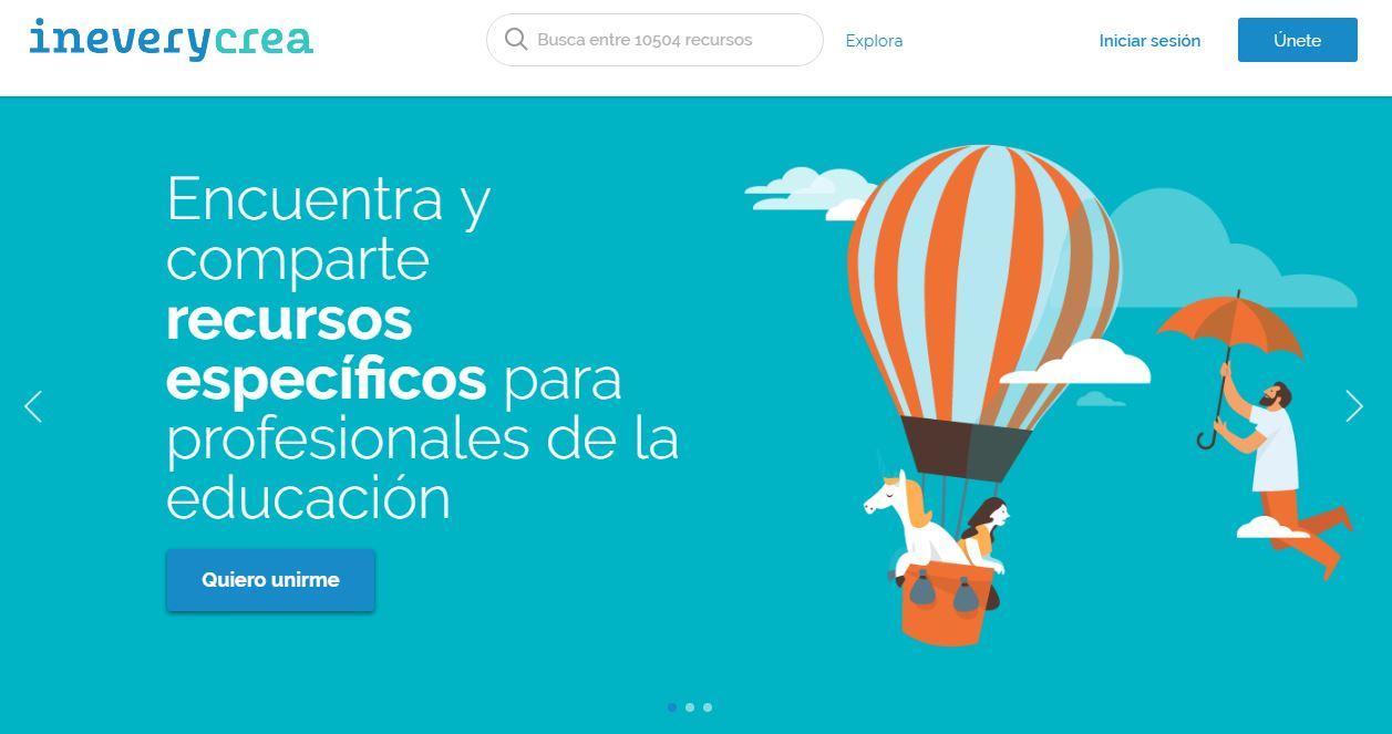 La plataforma Ineverycrea, del Grupo Santillana, renueva su imagen