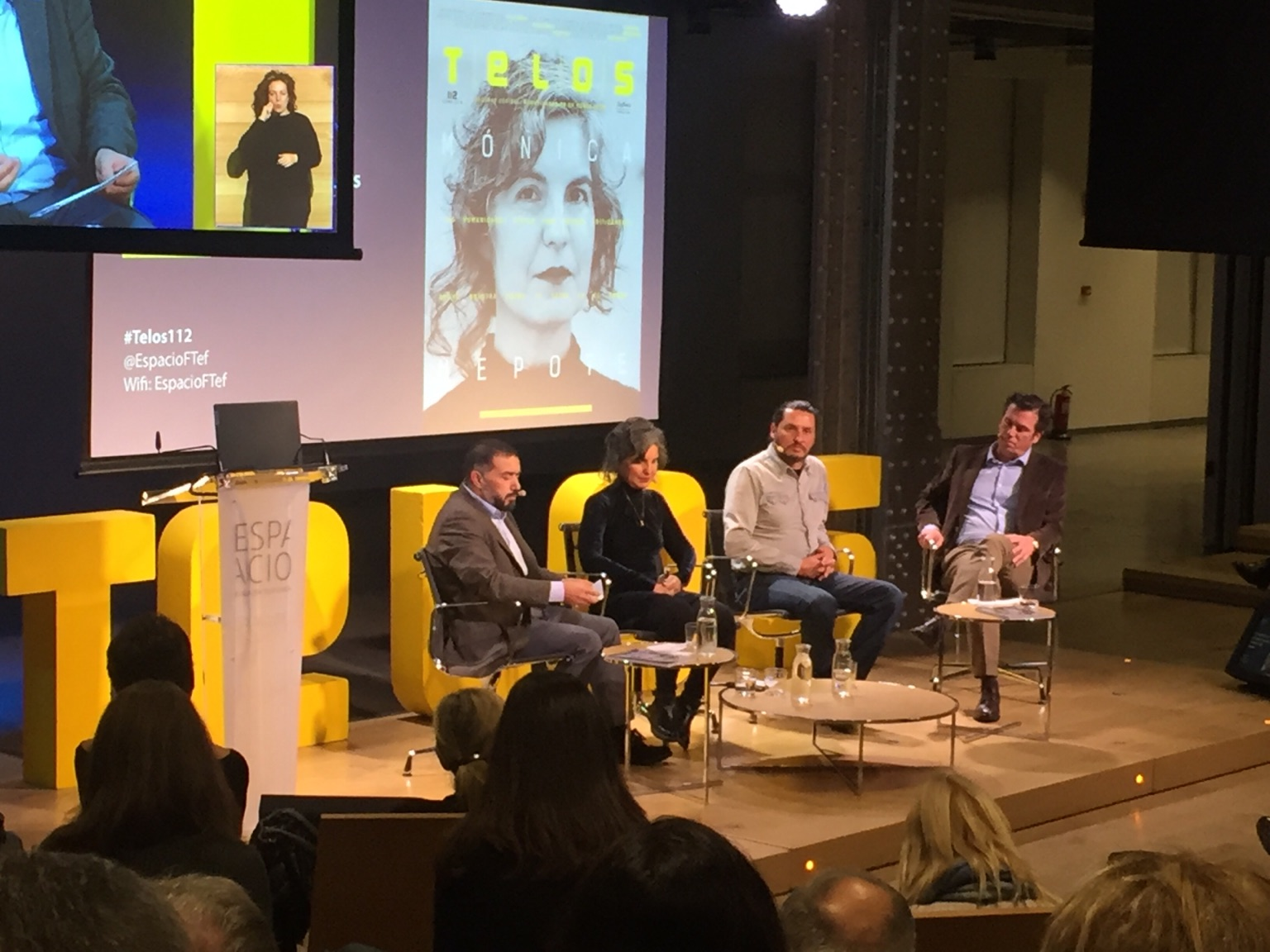 Ricardo Alonso Maturana participa en la presentación de la Revista Telos 112, de Fundación Telefónica