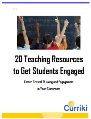 20 Teaching Resources to Get Students Engaged. 20 recursos para motivar a tus alumnos (Curriki)