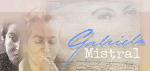 Gabriela Mistral. Universidad de Chile