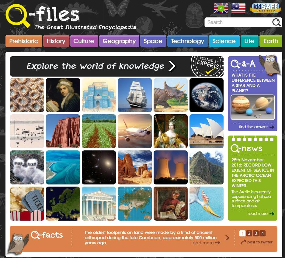 Q-files. Free Children's Online Encyclopedia