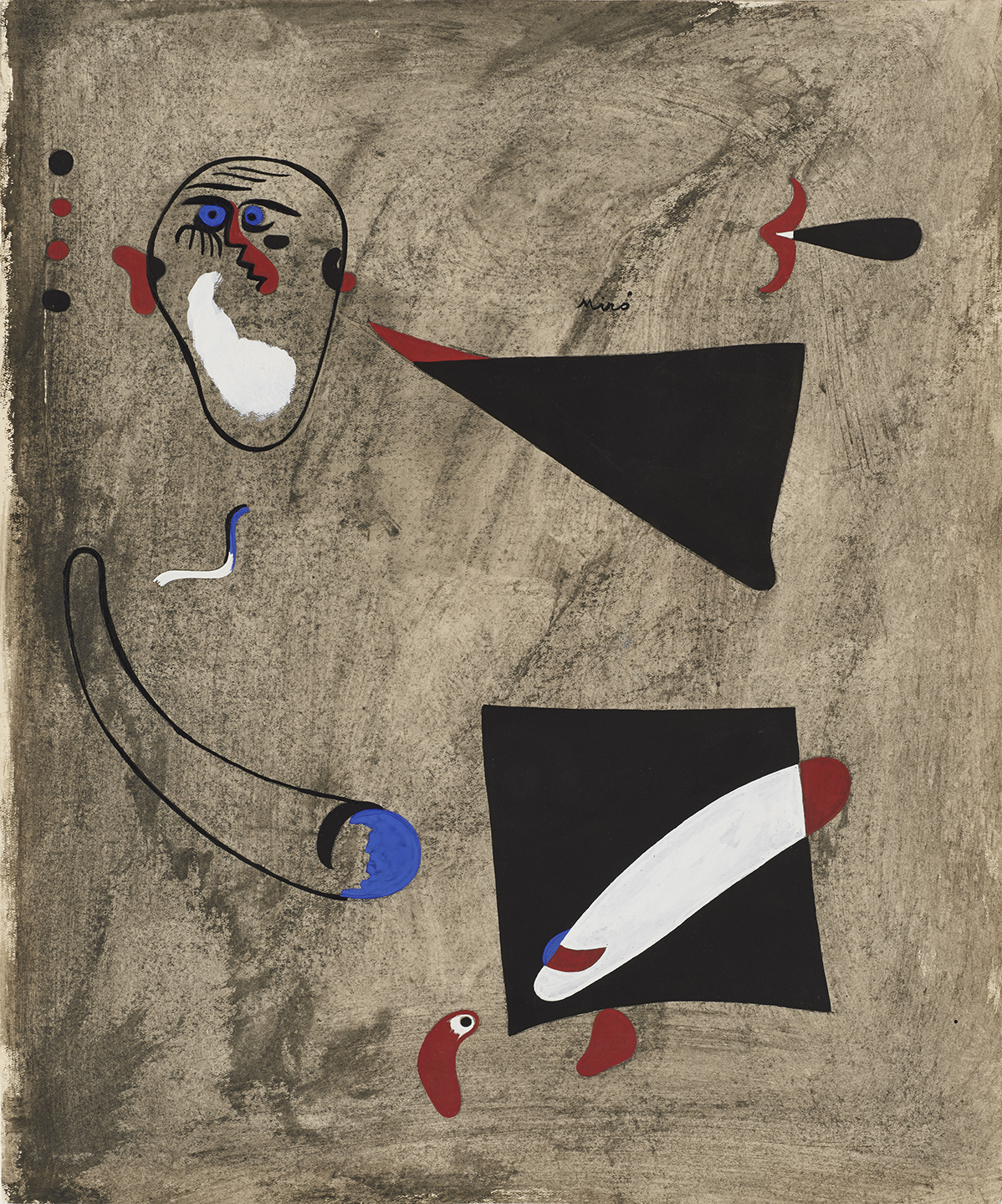 Head of Man and Object Discovering (Im)perfections in Artwork: Joan Miró. Art Lesson Plan (Denver Art Museum)