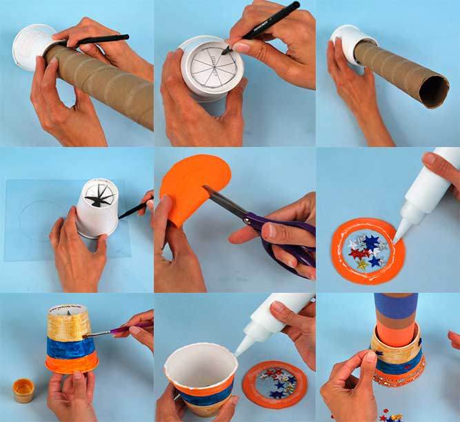 Cómo hacer un telescopio con tubos de cartón (manualidadescon.com)