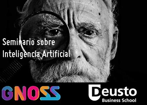 Participamos en el seminario de Inteligencia Artificial de Deusto Business School