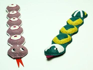 Serpientes De Carton Manualidades Infantiles Childtopia