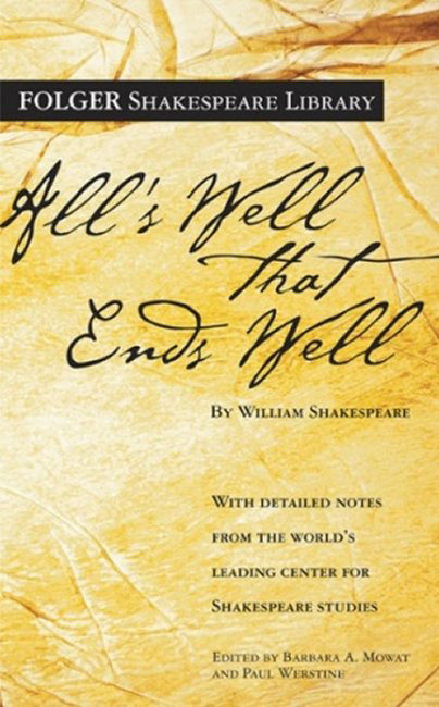 All's Well That Ends Well, Folger Digital Texts