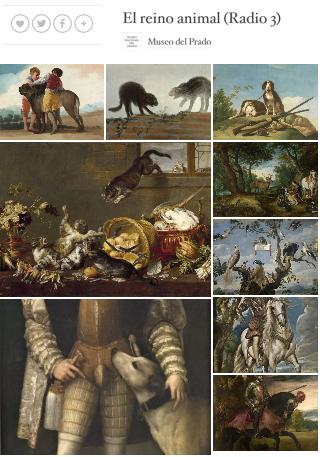 El reino animal. Recorridos del Museo del Prado