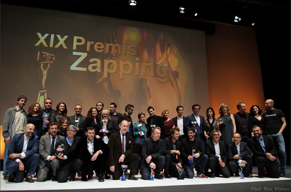 Didactalia ganadora de la XIX edición de los Premios Zapping