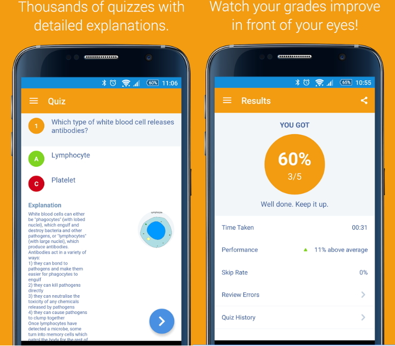 Gojimo Revision:  the free app that helps you pass exams. Más de 65.000 preguntas para preparar tus exámenes
