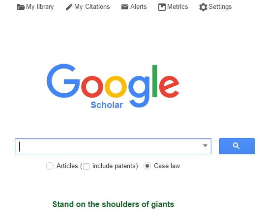 Google Académico: rastrea tesis, libros, artículos científicos, y todo lo relacionado con la investigación y el mundo académico