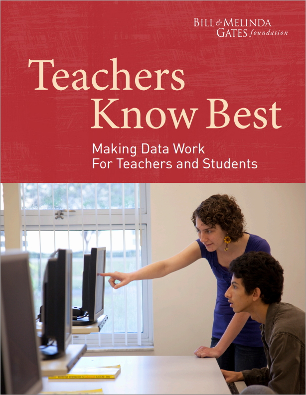 Making Data Work for Teachers and Students