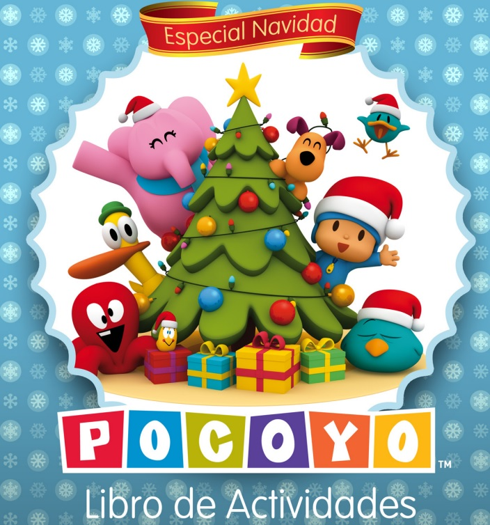 Libro De Actividades De Navidad De Pocoyó Didactalia Material