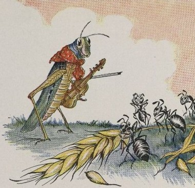 La cigarra y la hormiga. La Fontaine (PerúEduca)