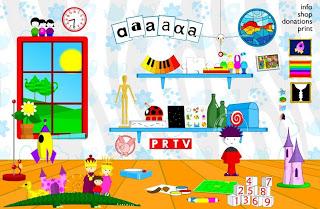 Poisson Rouge: juegos para niños