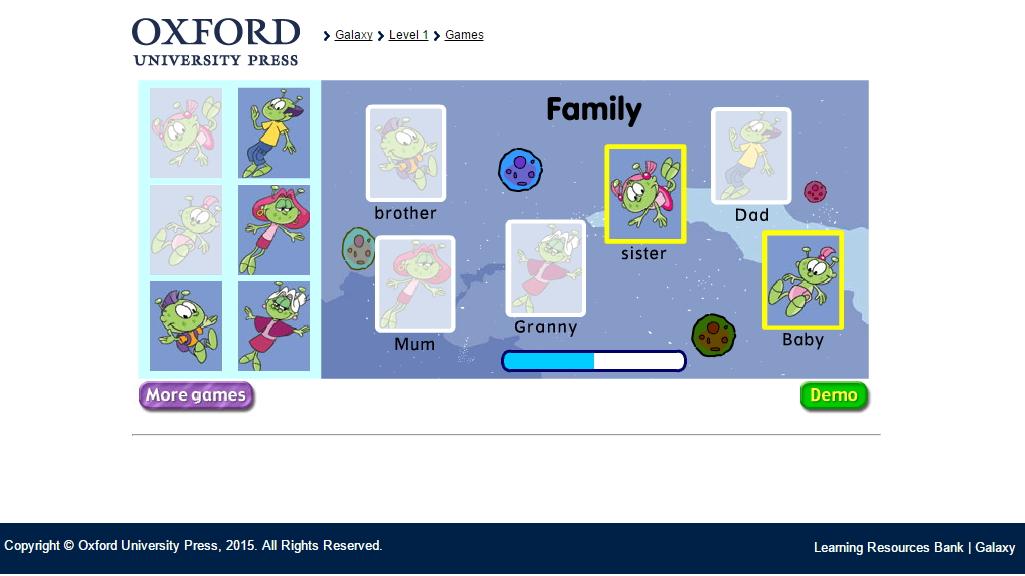 Family game (Oxford University Press)