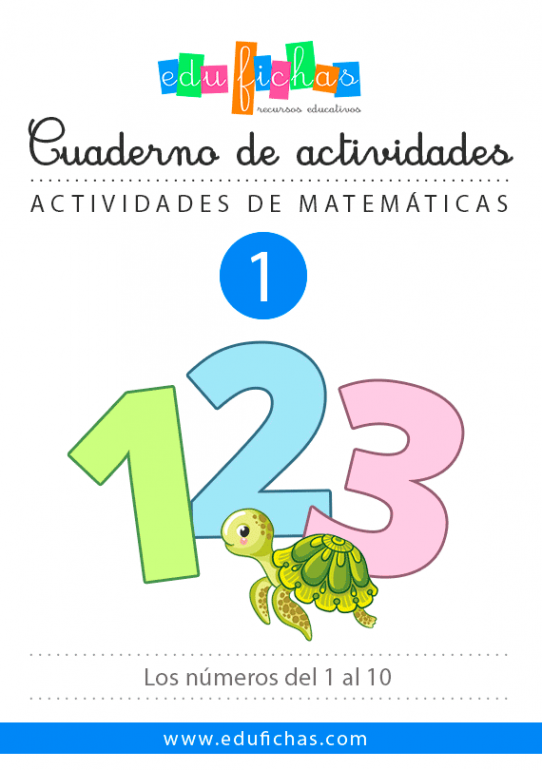 Cuadernillo de los números (Edufichas)
