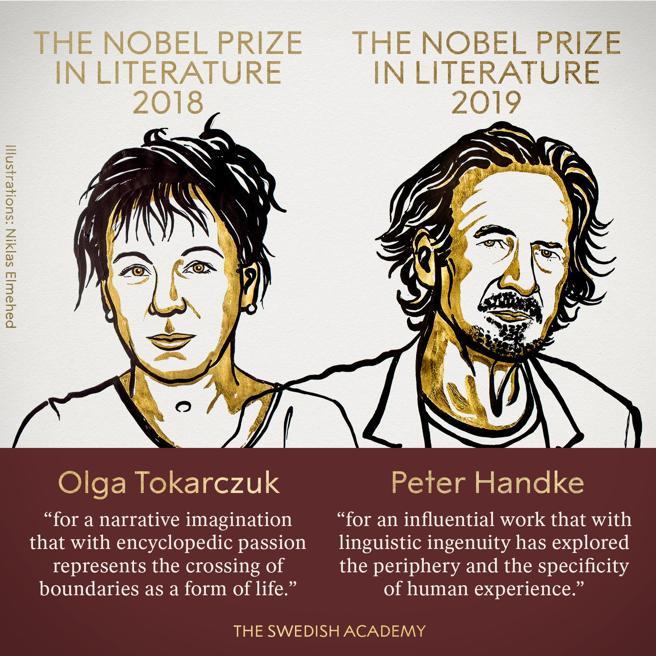 Premio Nobel de Literatura 2019: Olga Tokarczuk y Peter Handke