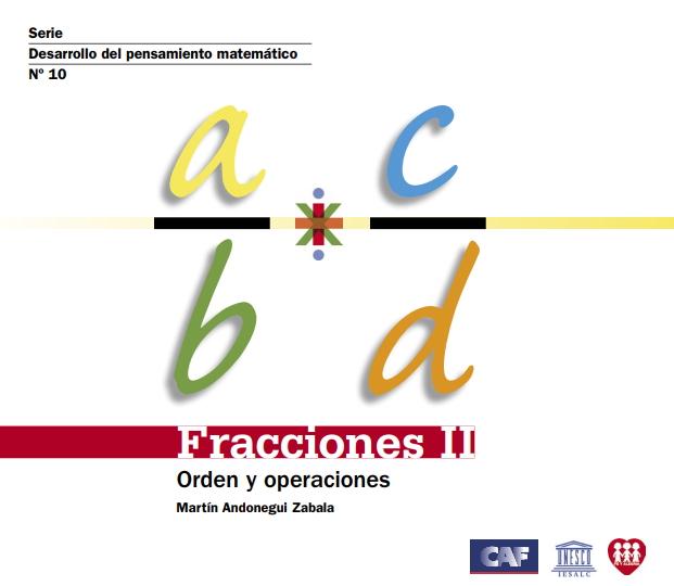 Fracciones II. Concepto y representación