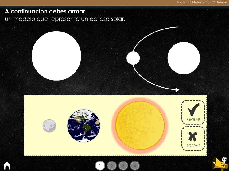 Los eclipses y las fases de la Luna