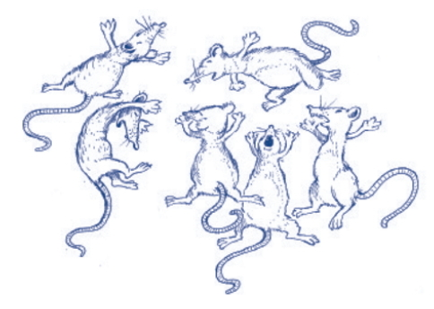Los ratones patas arriba. Pregunta liberada TIMSS-PIRLS de comprensión lectora