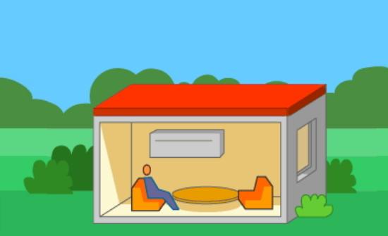 Casa de bajo consumo. Pruebas liberadas PISA. Física (2015)
