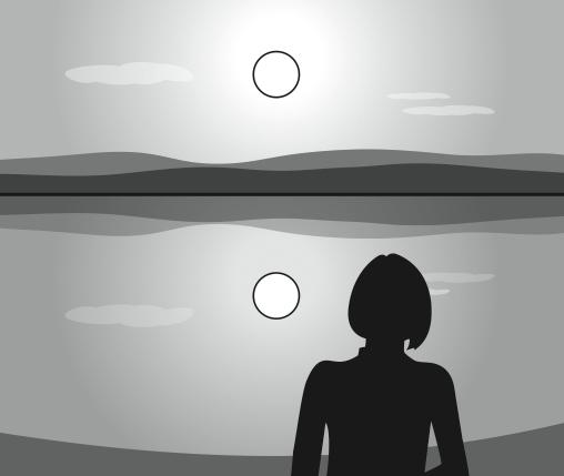Pregunta liberada TIMSS-PIRLS de física sobre la luz del sol. Problemas de física VI.